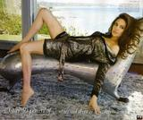 Angelina Jolie shows cleavage in Vanity Fair Magazine