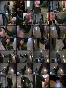 Lick My Boot Soles Female Domination