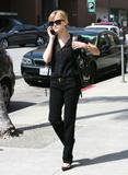 Reese Witherspoon chats on her cell phone in LA, March 8