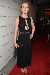 Emily Blunt arrives at the L.A. Premiere of 'Arthur Newman' @ ArcLight Hollywood in Hollywood