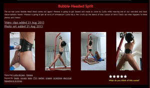 House of Gord: Bubble Headed Split