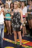 "Emily Osment Leggy on ""Much On Demand"" in Toronto - August 25"